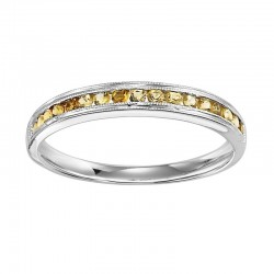 10K Citrine Mixable Ring