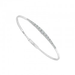 Gradauated diamond bangle