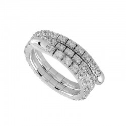 """Flexie"" Flexible Round Diamond Ring"