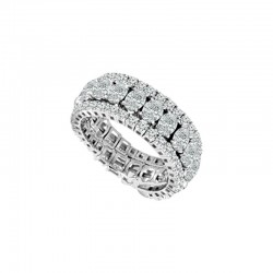 """Flexie"" Flexible Oval Diamond Ring"