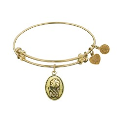 Angelica Basketball Bangle
