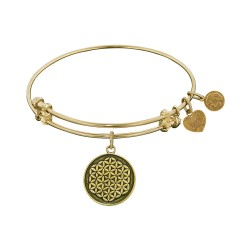 Angelica Flower Of Life Bangle