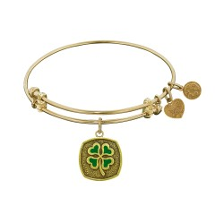 Angelica 4 Leaf Clover Bangle