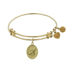 Angelica Letter-A Bangle
