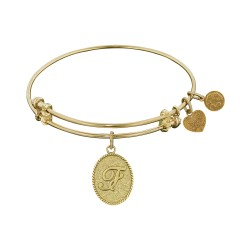 Angelica Letter-F Bangle