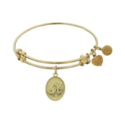Angelica Letter-H Bangle