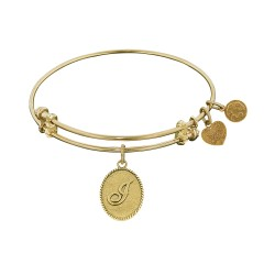 Angelica Letter-J Bangle