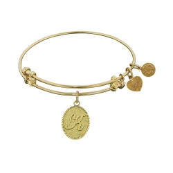Angelica Letter-K Bangle