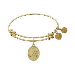 Angelica Letter-M Bangle