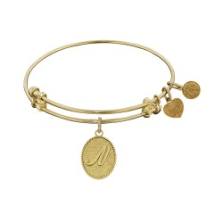 Angelica Letter-N Bangle