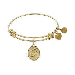 Angelica Letter-P Bangle