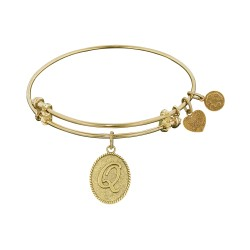 Angelica Letter-Q Bangle