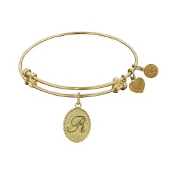 Angelica Letter-R Bangle