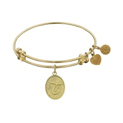 Angelica Letter-T Bangle