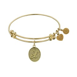 Angelica Letter-X Bangle