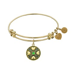 Angelica May-Emerald Bangle
