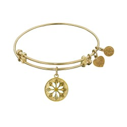 Angelica Daisy Flower Bangle