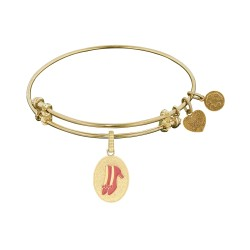 Angelica Ruby Slipper Bangle