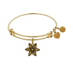 Brass with Yellow Finish ATOM Charm for Angelica Bangle
