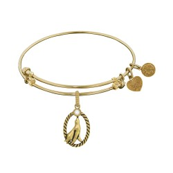 Brass with Yellow Seal Charm For Angelica Bangle