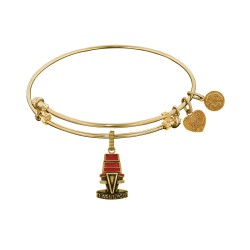 Brass Yellow The Voice Chair Charm for Angelica Bangle