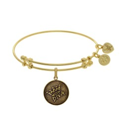 Brass with Yellow Finish Diva Charm for Angelica Bangle