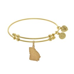 Brass with Yellow Finish Georgia Charm for Angelica Bangle