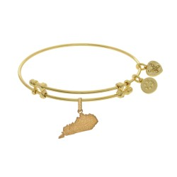 Brass with Yellow Finish Kentucky Charm for Angelica Bangle