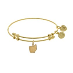 Brass with Yellow Finish Ohio Charm for Angelica Bangle