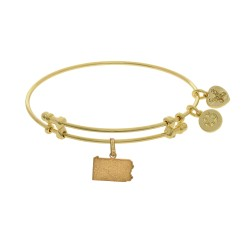 Brass with Yellow Finish Pennsylvania Charm for Angelica Bangle
