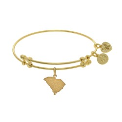 Brass with Yellow Finish South Carolina Charm for Angelica Bangle