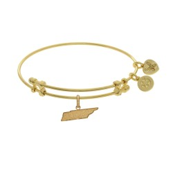 Brass with Yellow Finish Tennessee Charm for Angelica Bangle