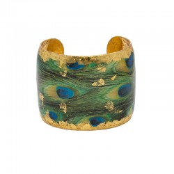Feathered Peacock Cuff