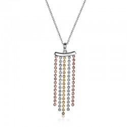 N0862 Waterfall 20 necklace