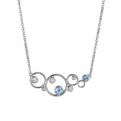 N10070WBT17 Bubble necklace