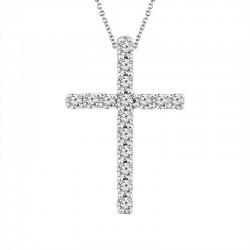 Classic diamond cross