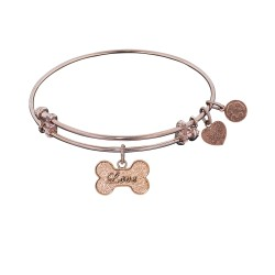Angelica Dog Bone with Love Bangle