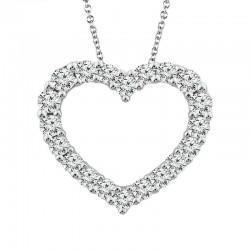Classic diamond heart