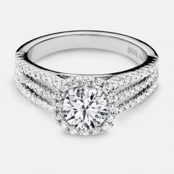 Naledi Marjorie Engagement Semi Mount Ring