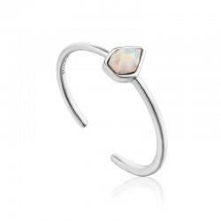 Opal Colour Adjustable Ring