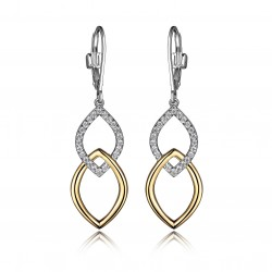 E10006YWZ Wave Earrings