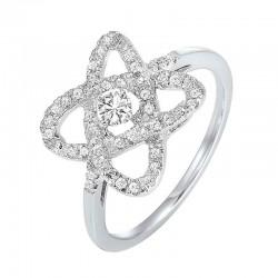 Loves Crossing diamond ring