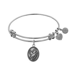 Angelica Dove with Olive Branch Bangle