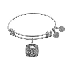 Angelica Skull+Crossbone Bangle