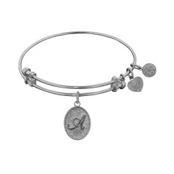 "Angelica Initial ""A"" Bangle"