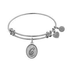 "Angelica Initial ""C"" Bangle"