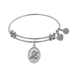 """Angelica Initial """"Z"""" Bangle"""