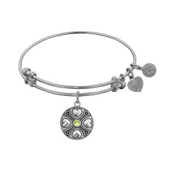 Angelica August-Peridot Bangle