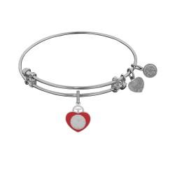 Angelica Heart Badge Bangle