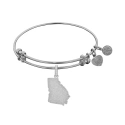 Brass with White Finish Georgia Charm for Angelica Bangle